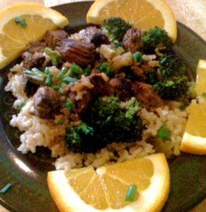 Orange Beef & Broccoli