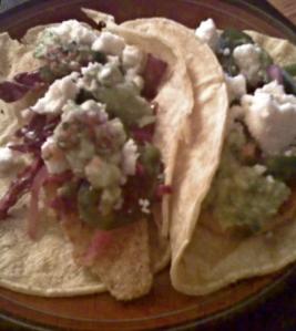 Baked Catfish Tacos