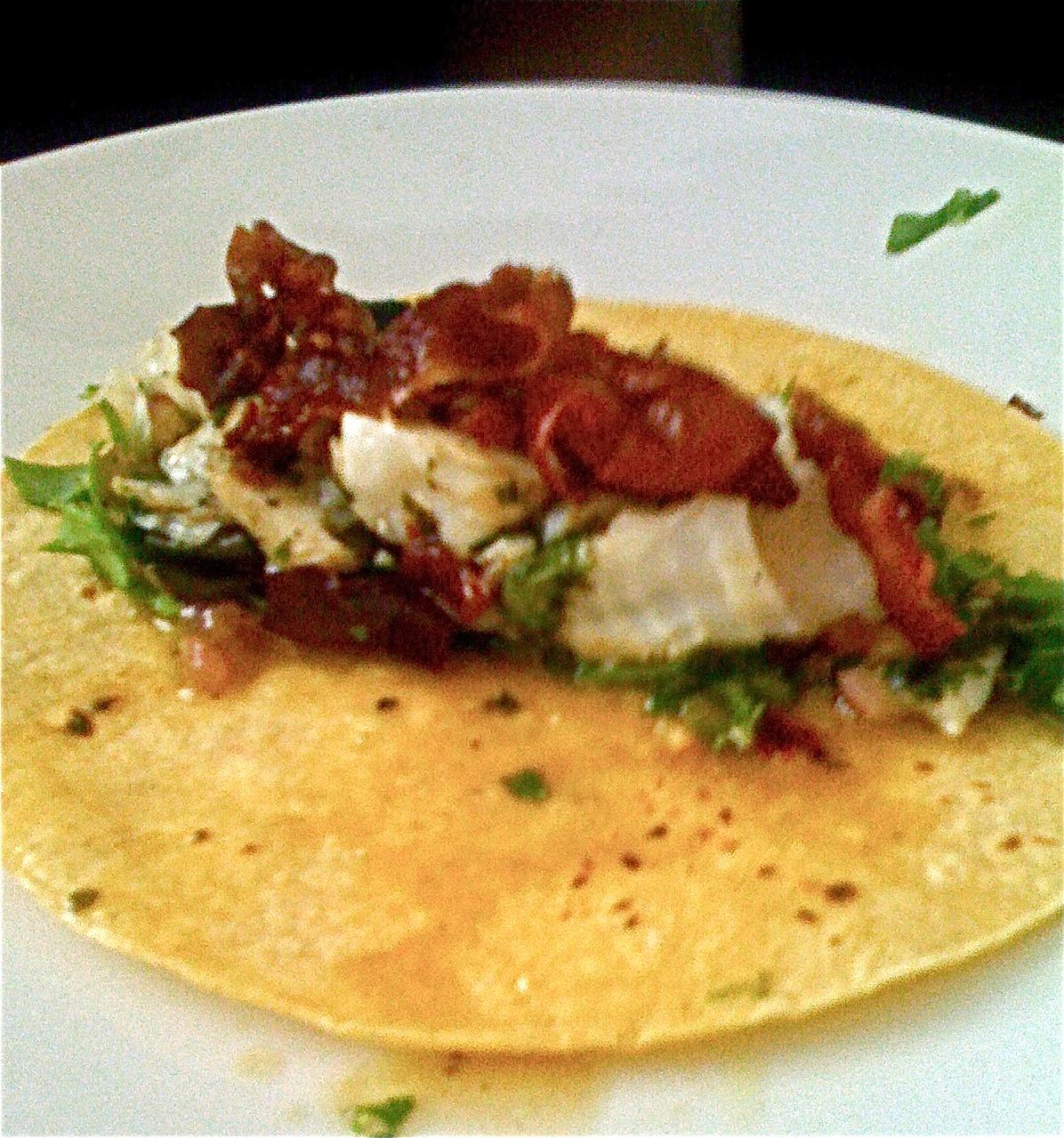 I tacos cooking jj 39 s way for Halibut fish tacos