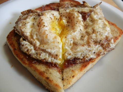 Fried Egg on Rye