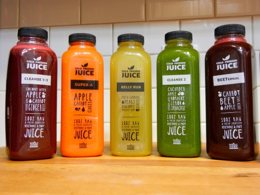 Cold Pressed Raw Juice Whole Foods