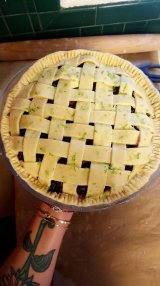 Blueberry Lime Pie Filling